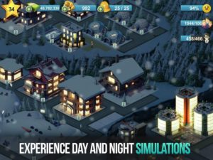 تصویر محیط City Island 4- Simulation Town: Expand the Skyline v1.9.15