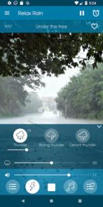 تصویر محیط Relax Rain ~ Rain Sounds v5.4.7