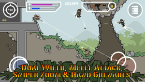 تصویر محیط Doodle Army 2 : Mini Militia v5.0.5