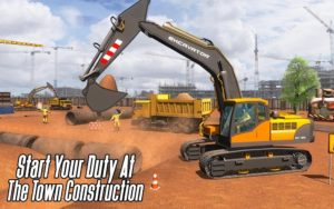 تصویر محیط City Heavy Excavator: Construction Crane Pro 2018 v1.0.5