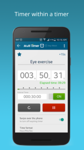 تصویر محیط Multi Timer StopWatch Premium v2.8.0 build 297