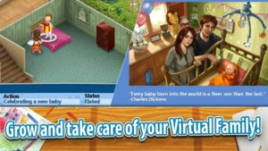 تصویر محیط Virtual Families 2 v1.7.4 + data