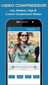 تصویر محیط Video Converter Flip Compress v1.14