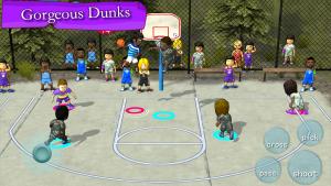 تصویر محیط Street Basketball Association v3.2.6 build 161