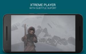 تصویر محیط XtremePlayer HD Media Player v1.6.4