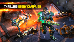 تصویر محیط Shadowgun Legends v0.8.2 + data