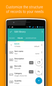 تصویر محیط Memento Database Pro v4.6.0 build 202