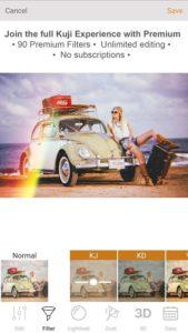 تصویر محیط Kuji Cam Premium v2.21.29