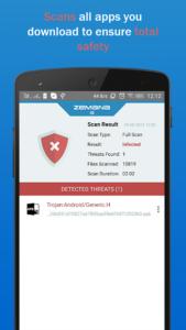 تصویر محیط Zemana Antivirus & Security v1.8.6