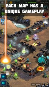 تصویر محیط Ancient Planet Tower Defense v1.1.48