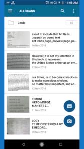 تصویر محیط OCR Text Scanner pro : Convert an image to text v2.1.1