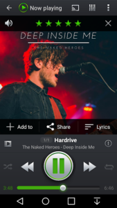 تصویر محیط PlayerPro Music Player v5.3 build 191