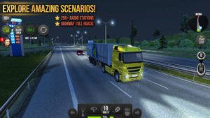 تصویر محیط Truck Simulator 2018 : Europe v1.2.7 + data