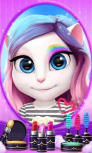 تصویر محیط My Talking Angela v4.1.2.359
