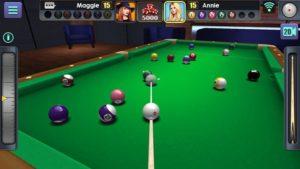تصویر محیط 3D Pool Ball v2.2.1.0