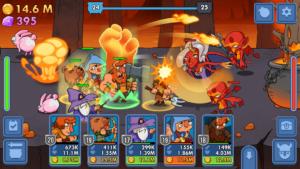 تصویر محیط Semi Heroes: Idle & Clicker Adventure – RPG Tycoon v1.0.10 build 69