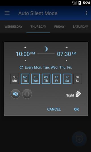 Auto Silent Mode v3.2.1