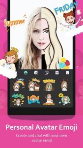 تصویر محیط GO Keyboard – Cute Emojis, Themes and GIFs v3.60