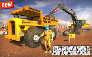 City Heavy Excavator Construction Crane Pro 2018 v1.0.5