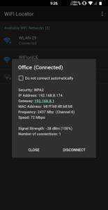 تصویر محیط Wi-Fi-Locator v1.9.81