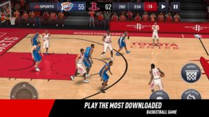 تصویر محیط NBA LIVE Mobile Basketball v3.4.00