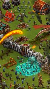 تصویر محیط Throne Rush v5.15.2