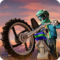 بازی موتور سواری با موتور کراس آیکون