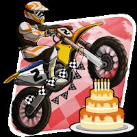 بازی مسابقه موتور سواری با موتور کراس آیکون