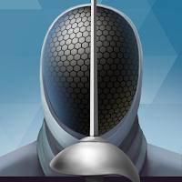 بازی شمشیر بازی مطابق با قوانین فدراسیون شمشیر بازی آیکون