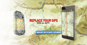 تصویر محیط BackCountry Navigator TOPO GPS v6.9.9