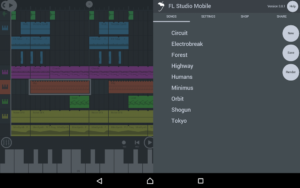 تصویر محیط FL Studio Mobile v3.5.3 + data