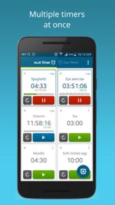 تصویر محیط Multi Timer StopWatch Premium v2.8.2 build 328