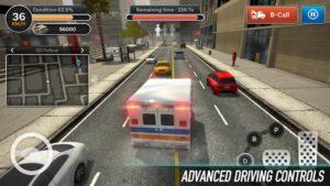 تصویر محیط City Ambulance Rescue Rush v1.1.3911