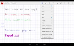 تصویر محیط LectureNotes v2.8.14
