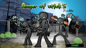 تصویر محیط Anger of stick 5 : zombie v1.1.22