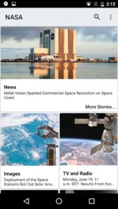 تصویر محیط NASA v1.92