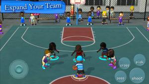 تصویر محیط Street Basketball Association v3.1.6 build 109