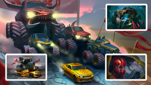 تصویر محیط Mad Truck Challenge – Shooting Fun Race v4.4