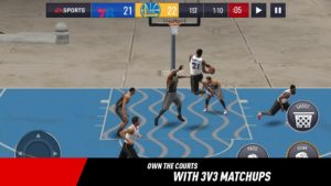 تصویر محیط NBA LIVE Mobile Basketball v4.0.10
