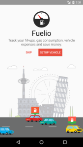 تصویر محیط Fuelio: Gas log & costs v7.7.6