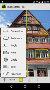 تصویر محیط ImageMeter Pro – photo measure v2.22.1
