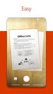 تصویر محیط Office Lens v16.0.13127.20392