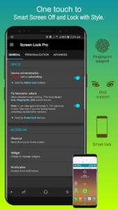 تصویر محیط Screen Lock Pro v4.6.7p