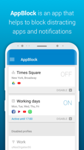 تصویر محیط AppBlock Pro – Stay Focused v4.3.10