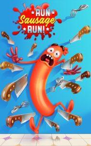 تصویر محیط Run Sausage Run! v1.16.3