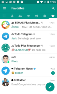 تصویر محیط Plus Messenger v7.3.1 build 21999