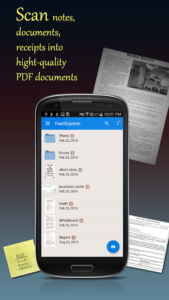 تصویر محیط Fast Scanner Pro: PDF Doc Scan v4.2.7 build 147