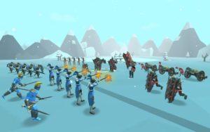 تصویر محیط Epic Battle Simulator 2 v1.4.40