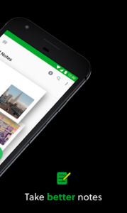 تصویر محیط Evernote – stay organized. Premium v8.9