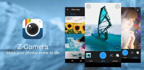 Z Camera – Photo Editor, Beauty Selfie, Collage v4.39